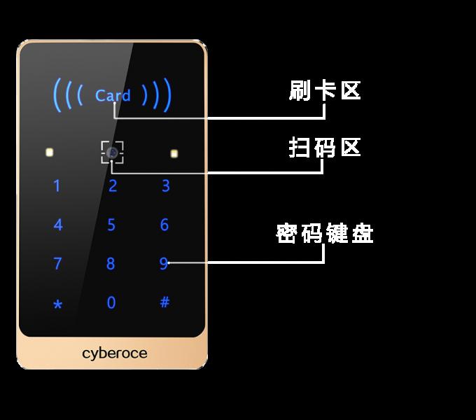 CR03二维码读卡器